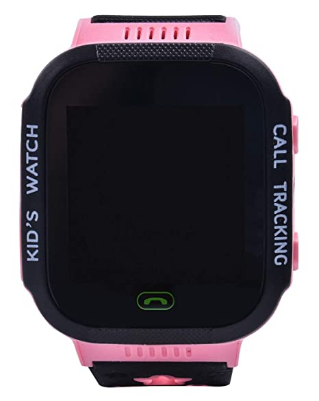 Aivtalk Reloj Inteligente para Niños con GPS Pantalla Táctil SOS Compatible iPhone Despertador Rosa: Amazon.es: Relojes