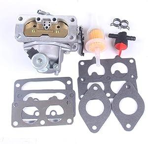 goodbest New Carburetor Gasket for Kawasaki 15004-0757 4 Stroke Engine FH721V Replaces 15003-7094, 15004-1005