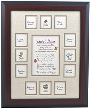 Amazoncom All Things For Mom School Picture Frame 11x14 Cherry