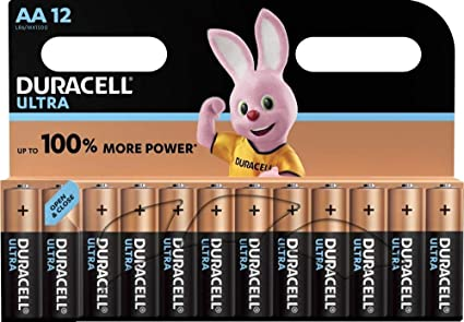 Duracell Ultra Aa Mignon Alkaline Batterien Lr6 12er Computer Zubehör
