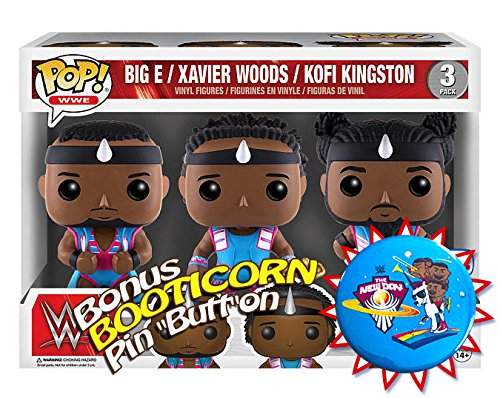 The New Day Booty O WWE 3 Pack POP POP Funko Figure Exclusive