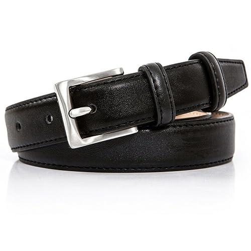 Fascia in vita decorativo semplice signora Cintura di moda selvaggia Cinture casuale-F 110cm(43inch)