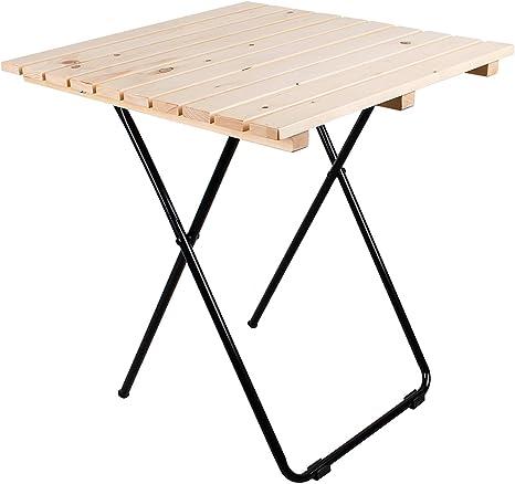 Mojawo Mesa plegable para camping, mesa de jardín, mesa ...