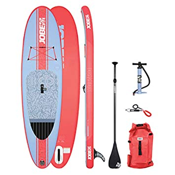 Jobe 2018 Womens Aero Yarra Inflatable Stand Up Paddle Board 10 6 x 32  inches - Including Paddle Backpack Pump and Leash  Amazon.co.uk  Sports    Outdoors 8c069d56d