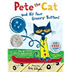 Cat Books Pete the Cat and His Four Groovy Buttons