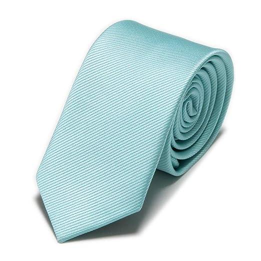 YUFSHU Corbatas Delgadas Sólidas De Moda Corbatas Flacas De Cuello ...