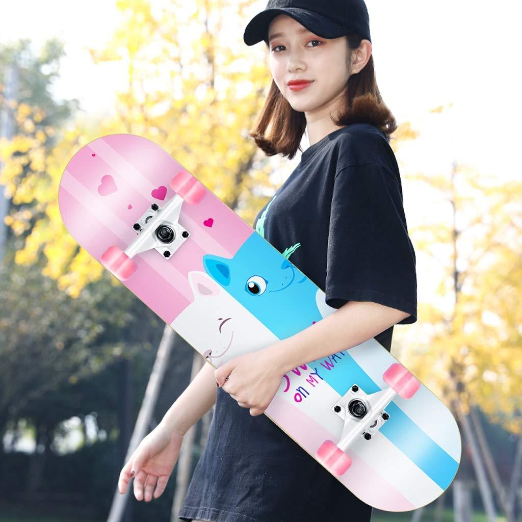 新発売 DUWEN DUWEN スケートボード初心者大人の女の子ティーンブラシストリートダブルロッカー子供四輪スクーター(フラッシュホイール付き) (色 : : A) B07NPYHRYV A) E E, Antica Male:81ea6133 --- a0267596.xsph.ru