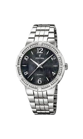 Uhr F167032 Damen Edelstahl Mit Festina Quarz Analog Armband 8Nn0wOkPX