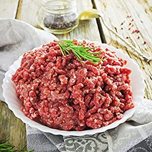 Premium Quality Ground Beef By Mount Pleasant Beef–Organic & Gluten-Free Grass FedBeef–5 Pack–Delicious & Healthy–Protein & Omega-3 Rich – Juicy & Ready ToCook–Ideal For BBQ