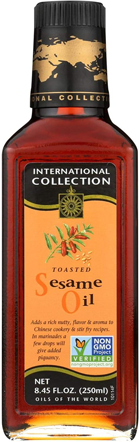 Toasted Sesame Oil 8.45 Ounces (Case of 6)