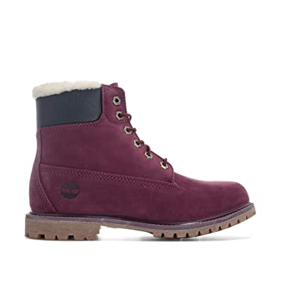 381eb9ef49cb4 Timberland Womens Womens 6 Inch Premium Shearling Boots in Port - UK 7.5