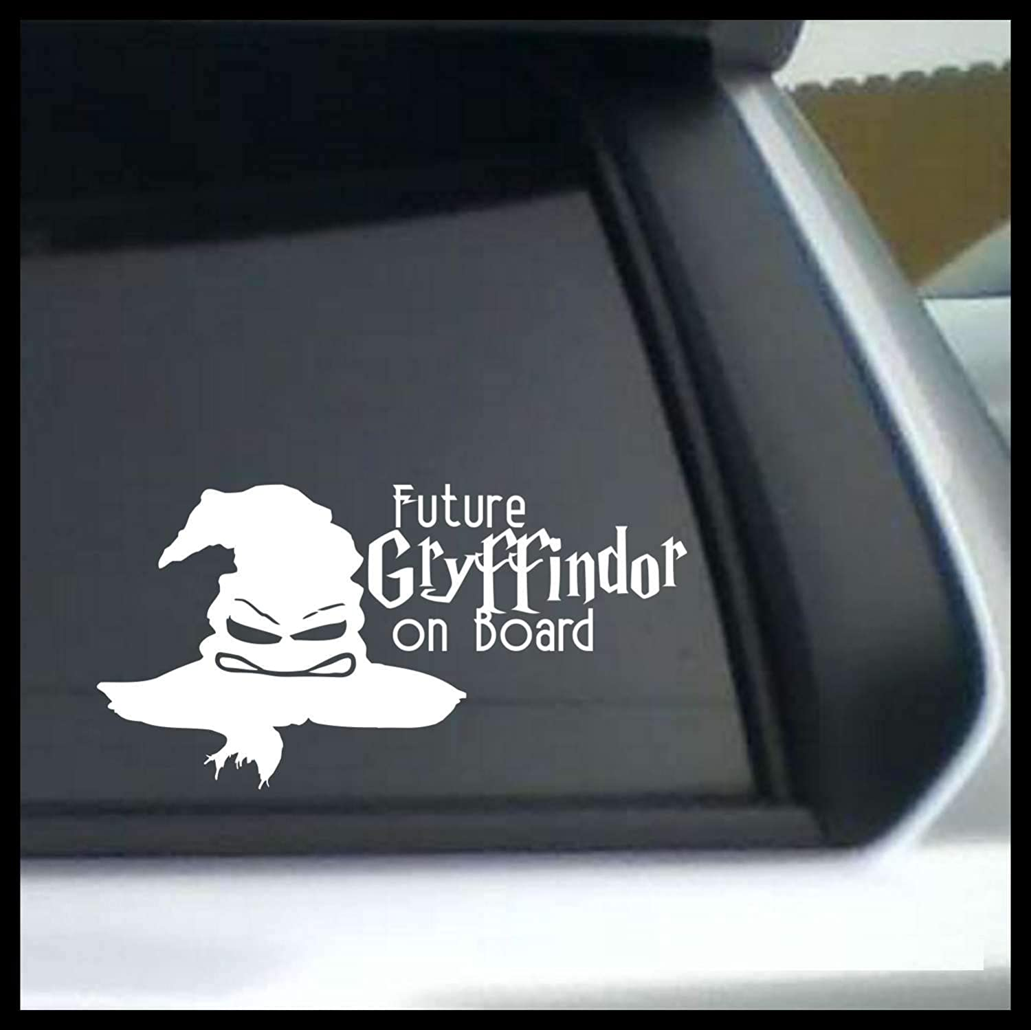 Future Gryffindor on Board, Harry Potter-inspired Vinyl Car/Laptop Decal