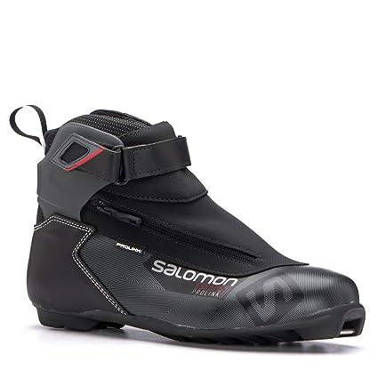 40e097821c71 Salomon Escape 7 Prolink NNN Cross Country Ski Boots 2019-8.0 Black-Red