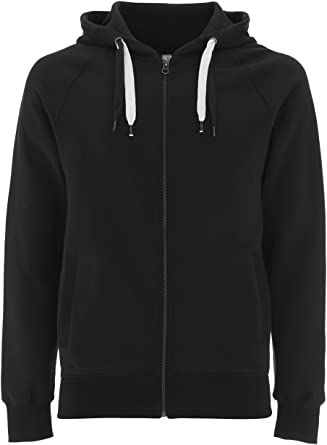 Zip Up Hoodies for Men Fleece Jacket Mens Zipper Cotton Hooded Sweatshirt