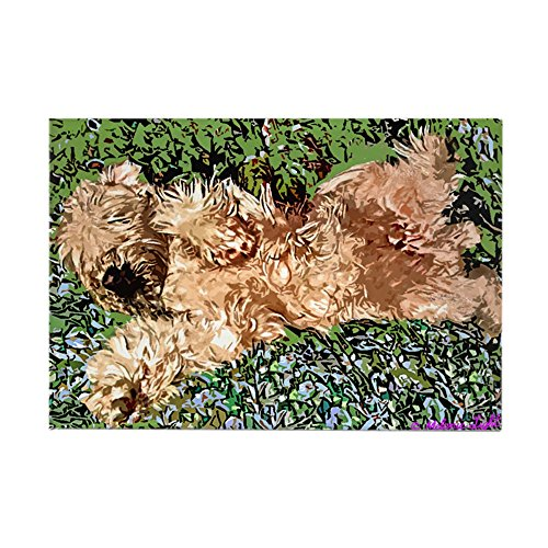 - CafePress SLEEPING PUPPY Rectangle Magnet, 2