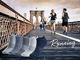 Mens Athletic Running Socks Low Cut No Show Sport