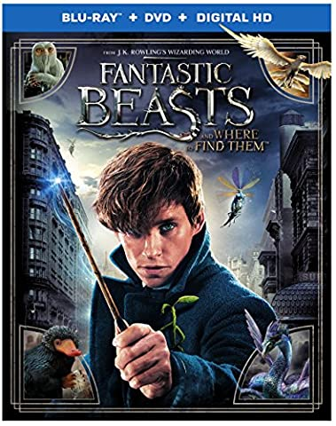 Fantastic Beasts and Where to Find Them (Blu-ray + DVD + Digital HD UltraViolet Combo Pack) (DVDs & Videos)