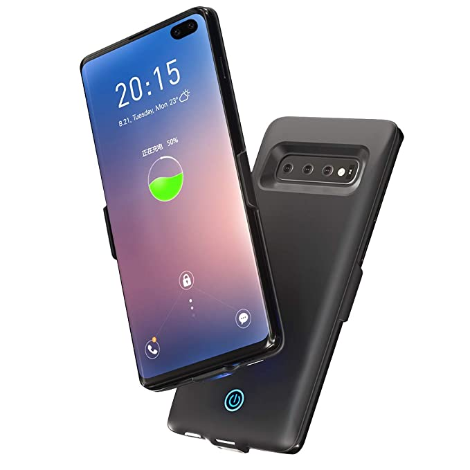 Phone Bags & Cases Battery Charger Cases Trustful For Samsung Galaxy S10 Plus Battery Charger Case 5000mah External Backup Powerbank Charging Case For Samsung S10 Plus Case Slim