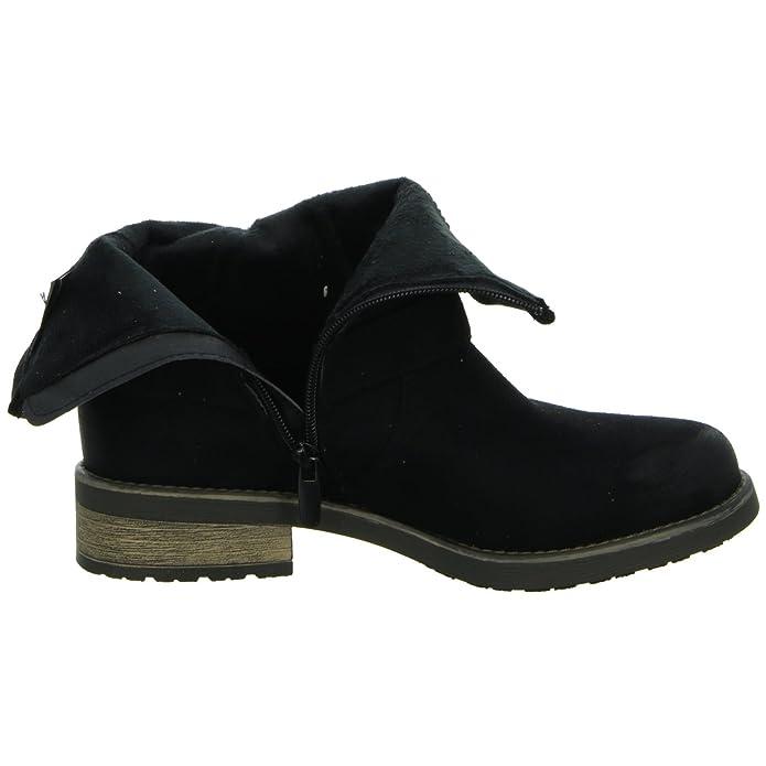 Pep Step 1622601, Bottes slouch femme - Noir - Noir, Taille 40