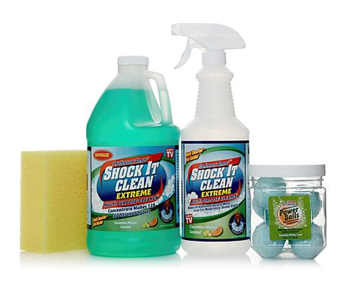Professor Amos Shock It Clean Extreme 128 oz. Multipurpose Kit~ Cucumber Melon by Professor Amos (Image #1)
