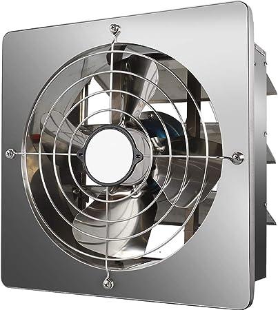 ZAQI Ventilador Pared Extractor de Pared para la Cocina del Garaje ...