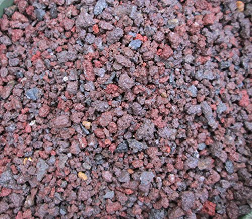 5 QTS - 1/32 -1/4'' - Lava rock - for Bonsai Soil, Succulents, Cactus & soil mixes