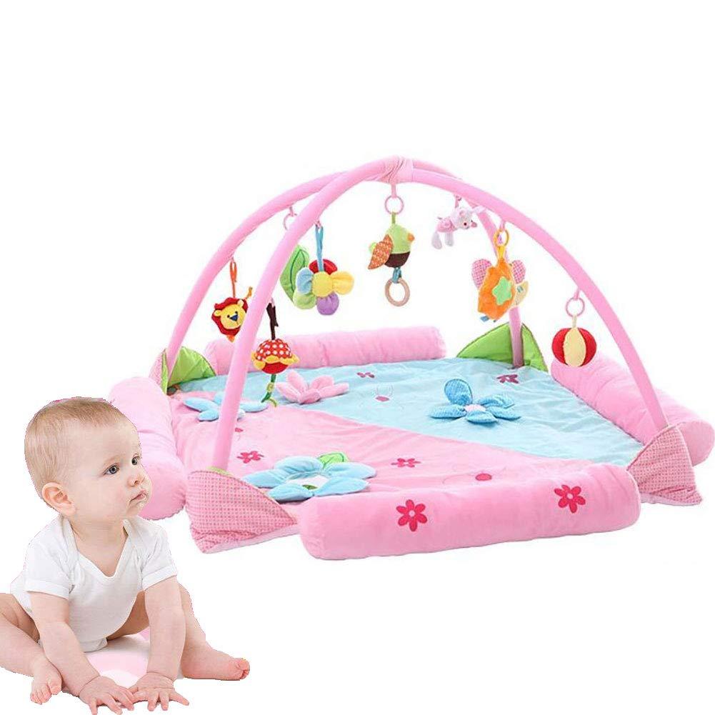 人気激安 子ども プレイマット お大型化超安全音楽ゲームパッド赤ちゃんゲーム用毛布赤ちゃんクロールマット。 B07KW68R66 Pink B07KW68R66 Pink Pink Pink, ミノワマチ:60ede69f --- arianechie.dominiotemporario.com
