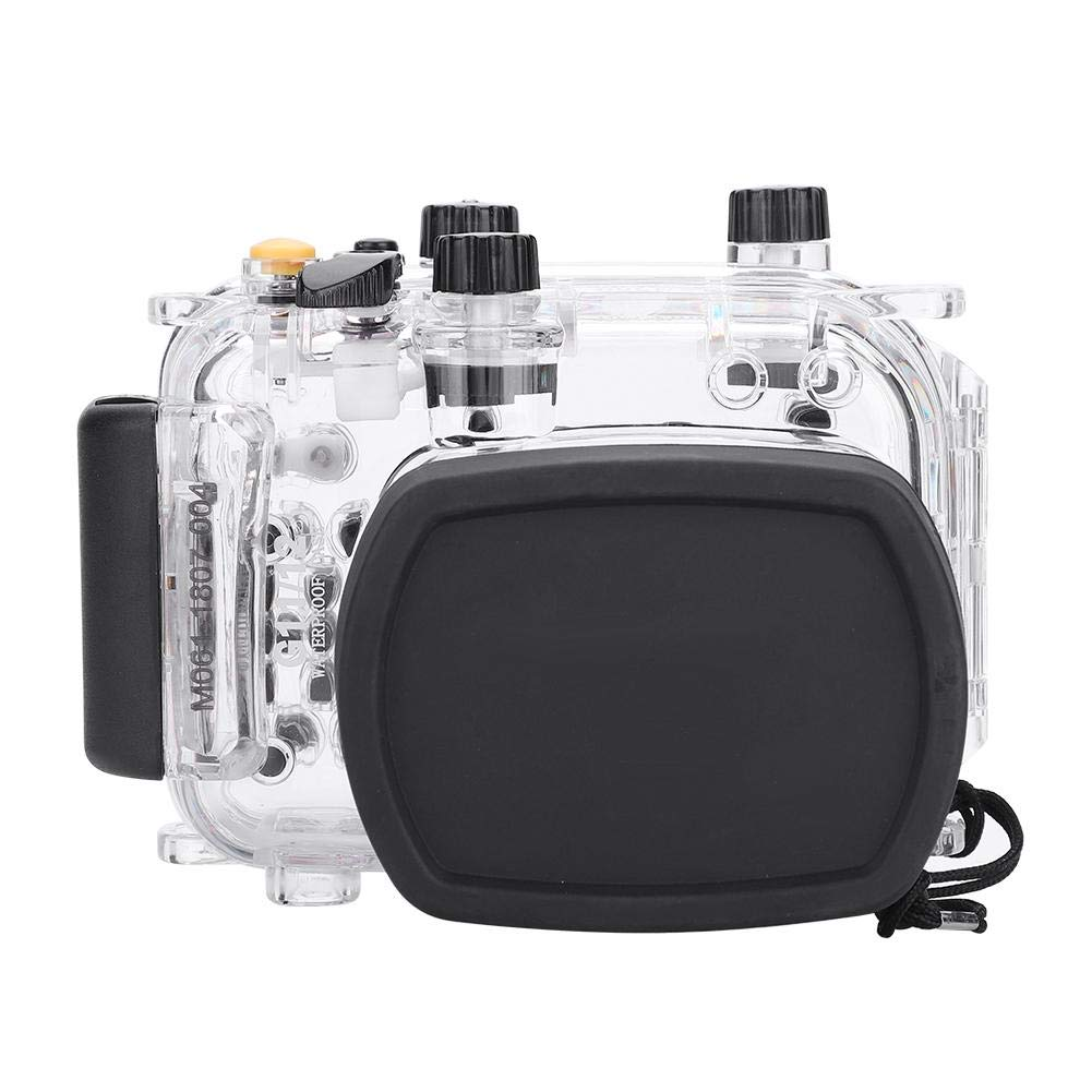 EBTOOLS キヤノンG11 G12カメラ用EBTOOLS 40メートル130フィート防水水中エンクロージャ   B07NBKYL5D