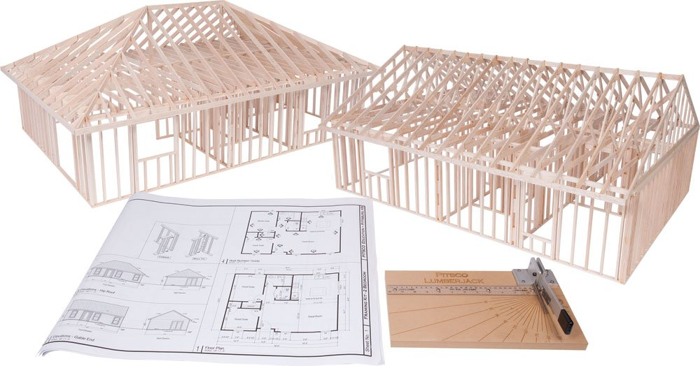Amazon.com: Pitsco True Scale House Framing Kit: Industrial & Scientific