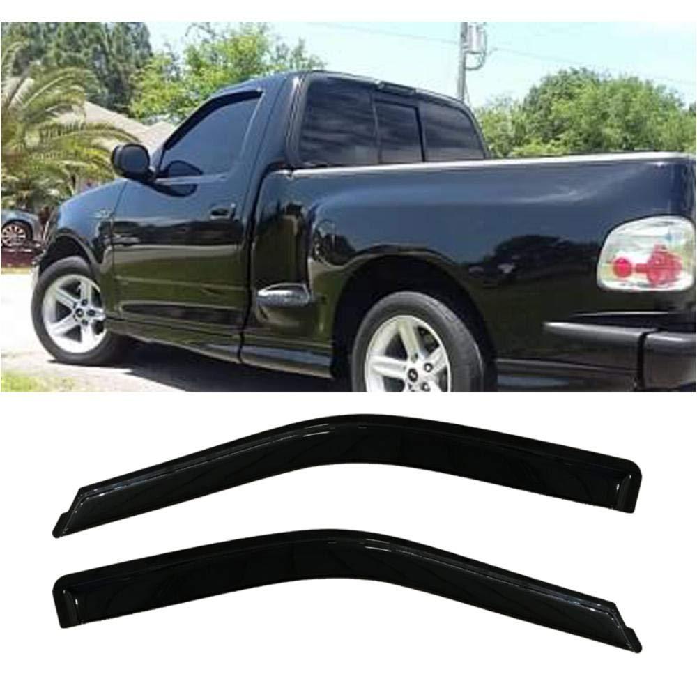 F150 Regular Cab >> Amazon Com Dobi 2pcs For 15 18 Ford F150 Regular Cab Sun