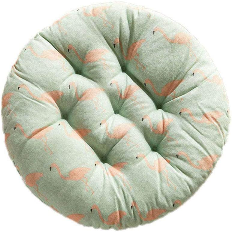 Doitsa 1pcs Tatami Coussin de Chaise Rond pour Bureau ou Accueil 40 x 40 cm Rembourrage /Épais Lits D/écoration de Canap/és