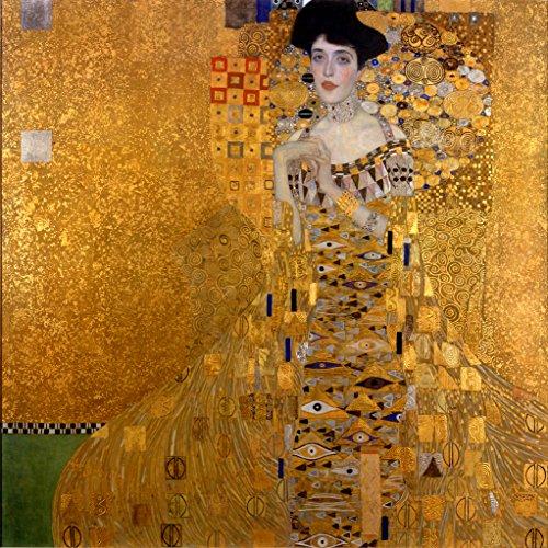 Gustav Klimt The Woman In Gold Art Print Poster