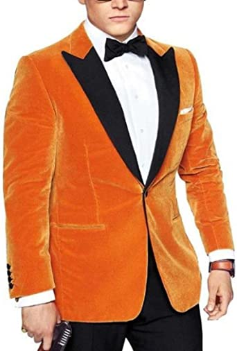 Bravepe Mens African Print Dashiki Slim Fit Casual Business 1 Button Dress Blazer Jacket Suit Coat
