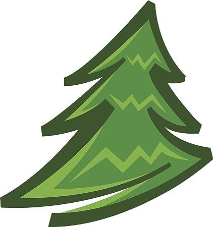 Tall Christmas Tree Clipart.Amazon Com Simple Green Clipart Green Pine Christmas Tree