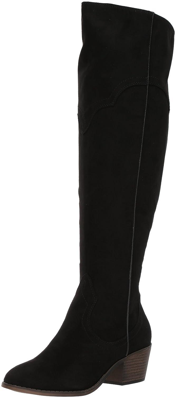 Fergalicious Women's Bata Wide Calf Western Boot B06XYH3VNR 8 B(M) US|Black