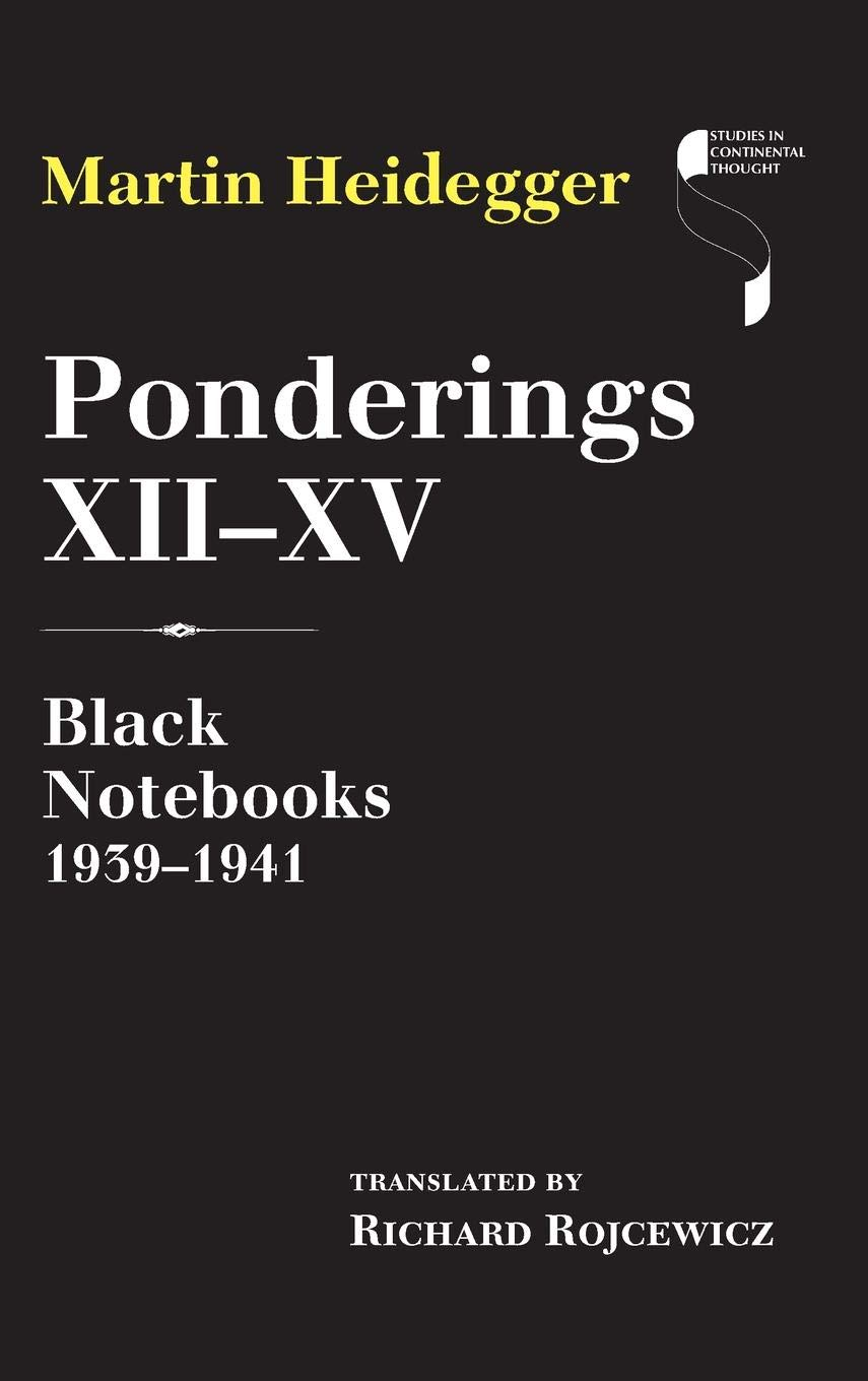 Download Ponderings XII–XV: Black Notebooks 1939–1941 (Studies in Continental Thought) pdf epub