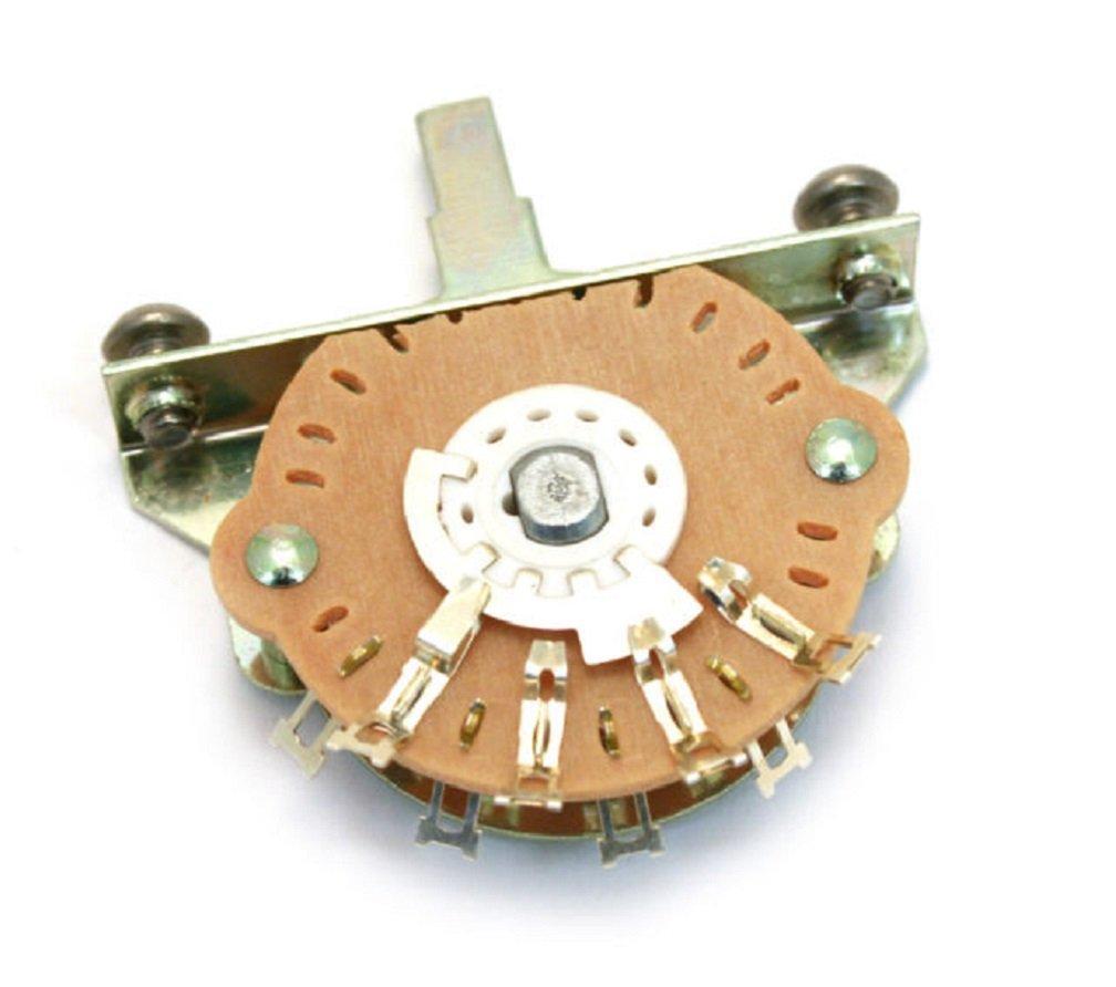 Oak Grigsby 5-way Blade Switch w/ Mounting Screws Electroswitch 51993