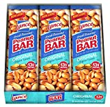 Lance, Peanut Bars, 6 - 2.2oz Packages, 13.2oz Total Per Tray (Pack of 12)