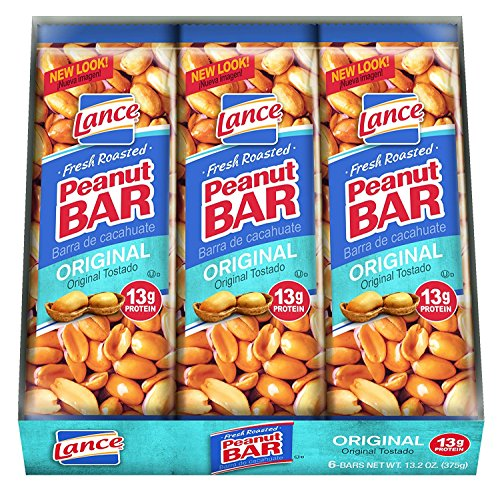 Lance, Peanut Bars, 6 - 2.2oz Packages, 13.2oz Total Per Tray (Pack of 12) by Lance (Image #5)