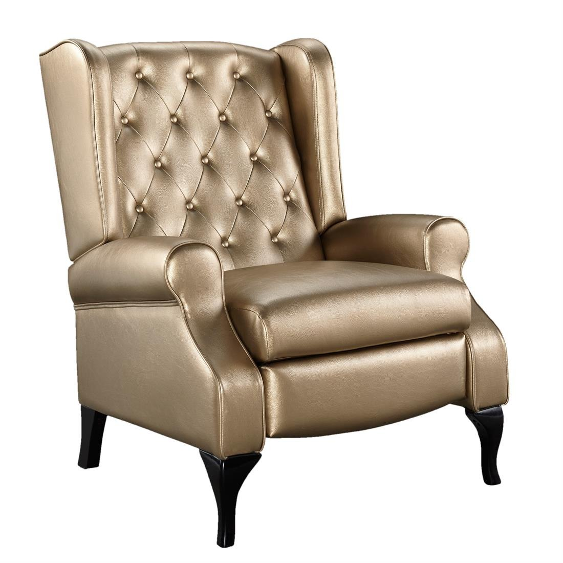 Brylanehome Cecilia Recliner (Metallic Gold,0)