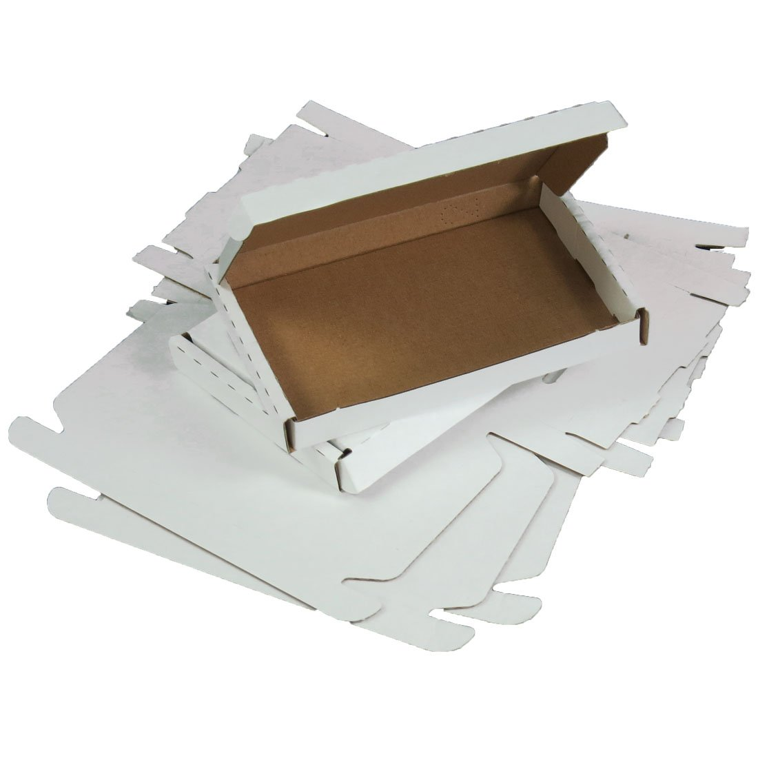 Grande boîte postale en carton Triplast à confectionner C6160mmx110mmx20mm blanc (lot de10) Lot de 50