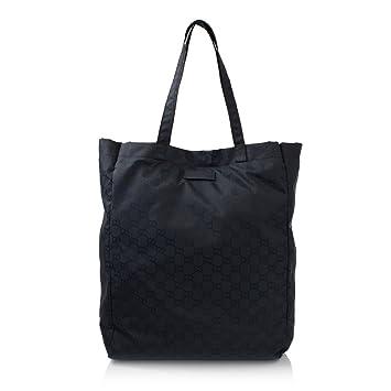 5a59683e8c7 Amazon.com   Gucci Mama s Bag 281487 Navy Nylon Gg Logo Tote Bag   Baby