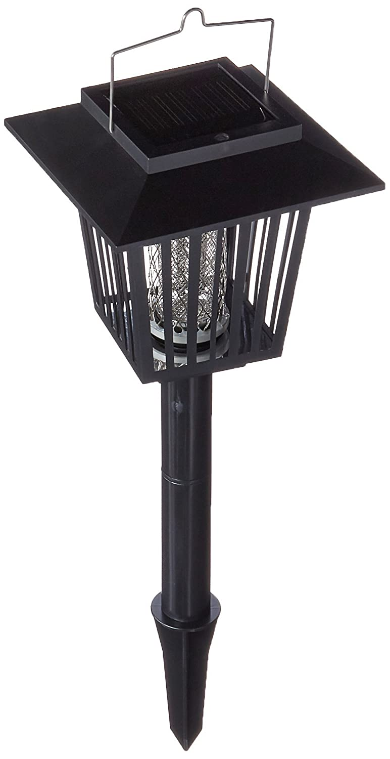 GTV Solar LED Light Insect, Pest, Mosquitoes and Bugs Killer Lantern and Staked Garden Lamp Global Trade Village G-SMK-002