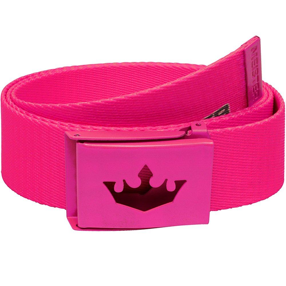Meister Player Golf Web Belt - Adjustable & Reversible - Hot Pink