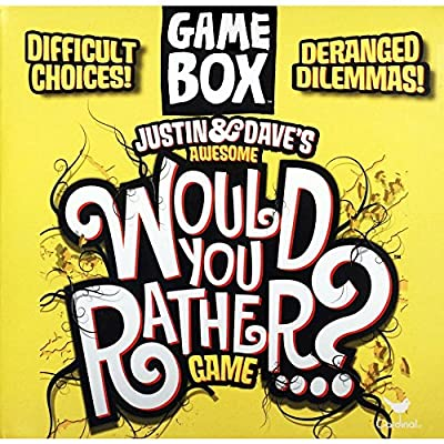 Justin & Dave's Awesome Would You Rather? Game Box: Toys & Games