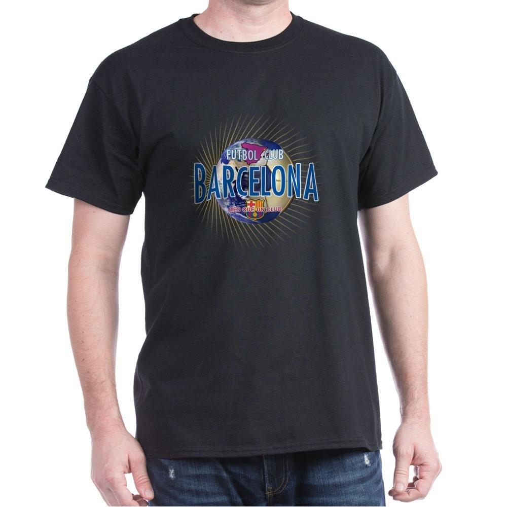 8a442e04b Amazon.com  CafePress - F.C. Barcelona - 100% Cotton T-Shirt  Clothing