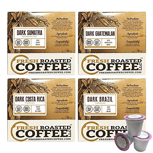 kcup dark roast variety pack - 5