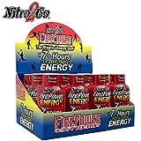 7 hour energy - Nitro2Go Firepower Energy Shots - Sweet Berry 2 Ounce Bottle (Pack of 12)