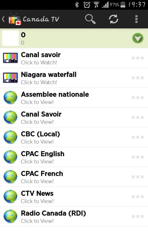 Canada Tv Live