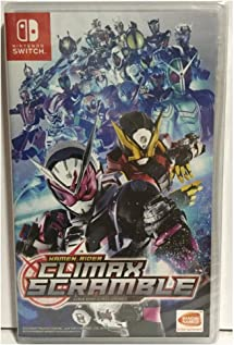 Kamen Rider Climax Scramble Nintendo Switch Game (#): Amazon co uk